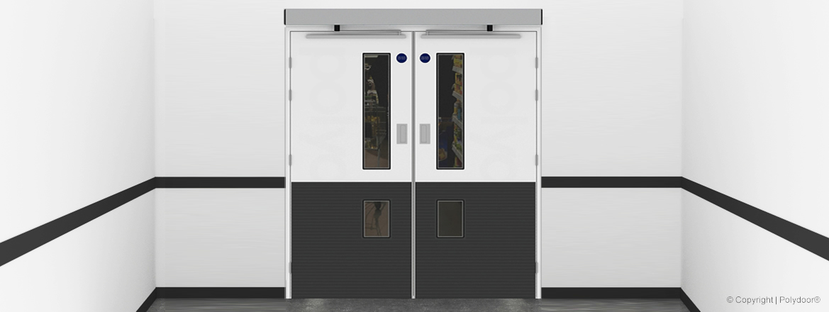GRP Encapsulated Hygiene Fire Doors